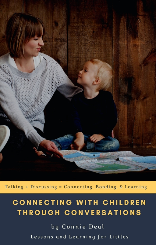 Connect with Children through Conversations Guide is for parents who are tired of not knowing how to get quality answers from their kids and who are tired of activities not going well. Learn simple strategies for tweaking what you're already doing so that your questions are more efficient and you're learning more and talking with your children instead of at them.