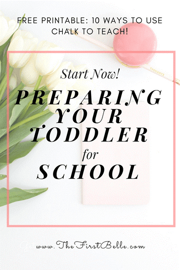 Preparing your toddler for school is easier than you think! Learn simple things you can do at home to prepare your 2-3 year old for school!