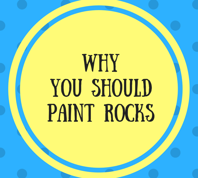 It's easy to paint rocks with kids and makes for a great diy kid project. You can paint rocks for the garden, to look like animals, for games, or even gifts! Painted rocks makes for a great toddler craft and it's easier to paint with toddlers and preschoolers than you might think.