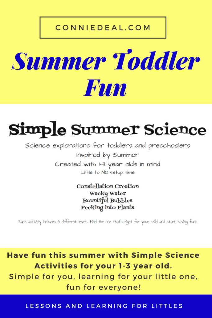 Simple science experiments for toddlers. Preschool science experiments. Toddler activities. Summer activities for toddlers.