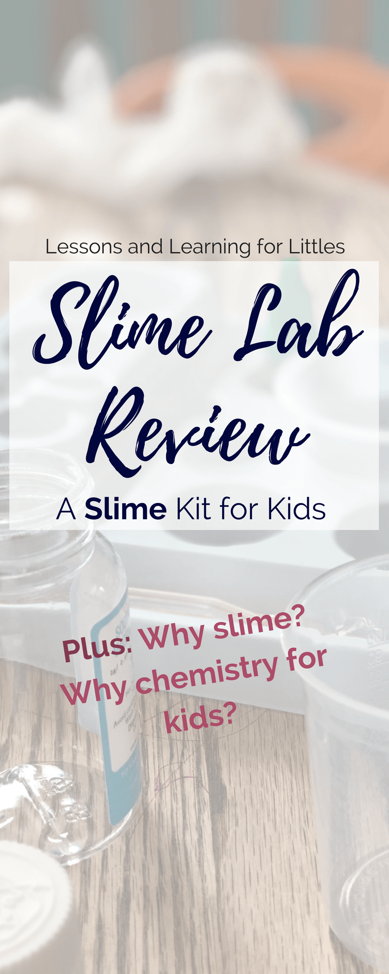 We don't always know what to get kids for #birthdays or #Christmaspresents. Kits are a great idea, but it can be hard to know which kits to get and if they'll be able to use it. Slime is something most kids enjoy making, so why not try a slime kit? Find out the benefits of this #slime kit plus reasons you should do chemistry activities with your kids. #preschoolscience #slimekit #giftideaforkids
