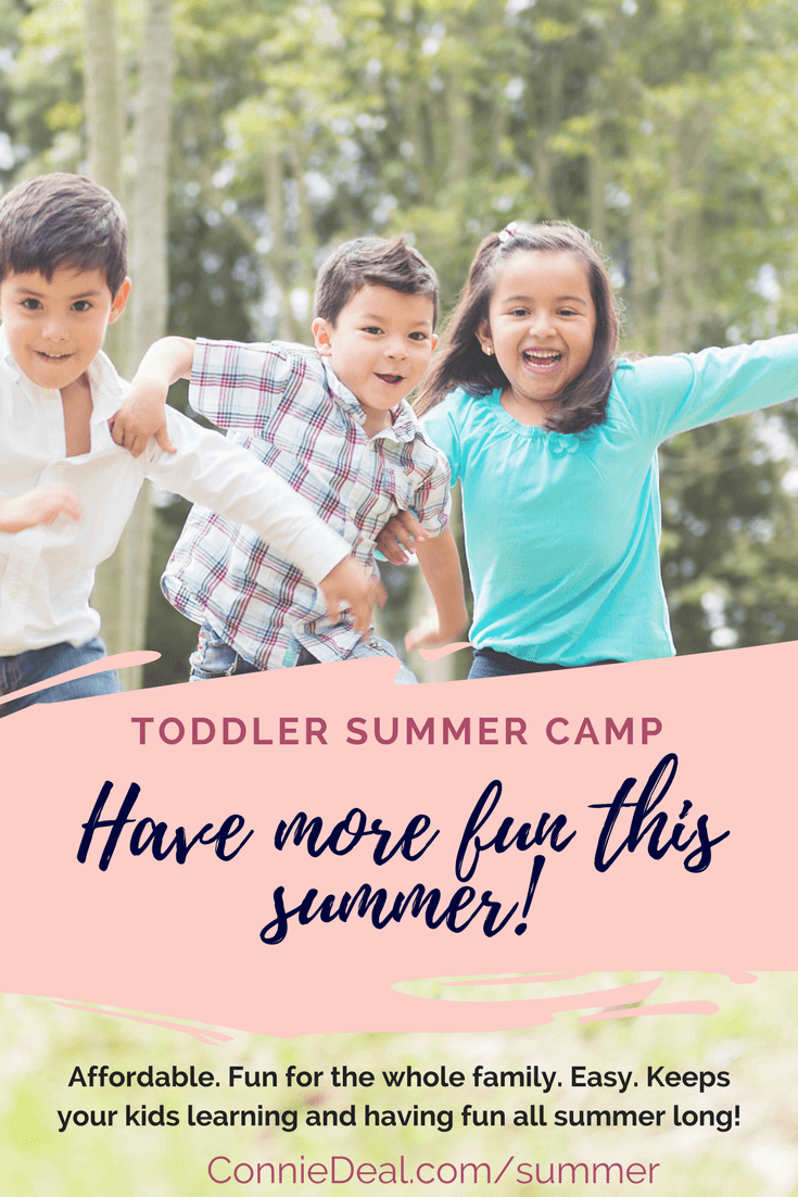 Have more fun this summer with an online summer camp designed exclusively for toddlers, preschoolers, and their busy families. Have fun together all summer long with this easy program, designed to enhance your time together this summer while making it easier to enjoy one another's company. Find out more about this exclusive program from Lessons and Learning for Littles and enroll today! #summer #summervacation #toddleractivities #summercamp #preschool #homeschoolpreschool