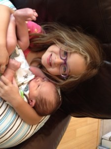 Jude with his sister Aydan