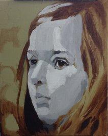 2017-02-26 Portrait - 'Imogen' (Oils) - Part 3 - Grisaille 1 Planes