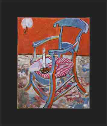 'Gauguin's Chair Inverted'