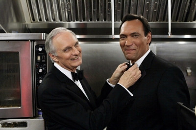 Image result for the west wing season 7 vinick and santos