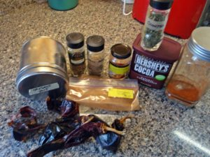 The Chili Spice Mix Ingredients