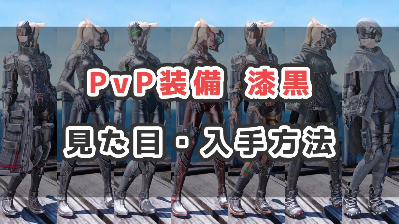 PvP装備漆黒サムネ