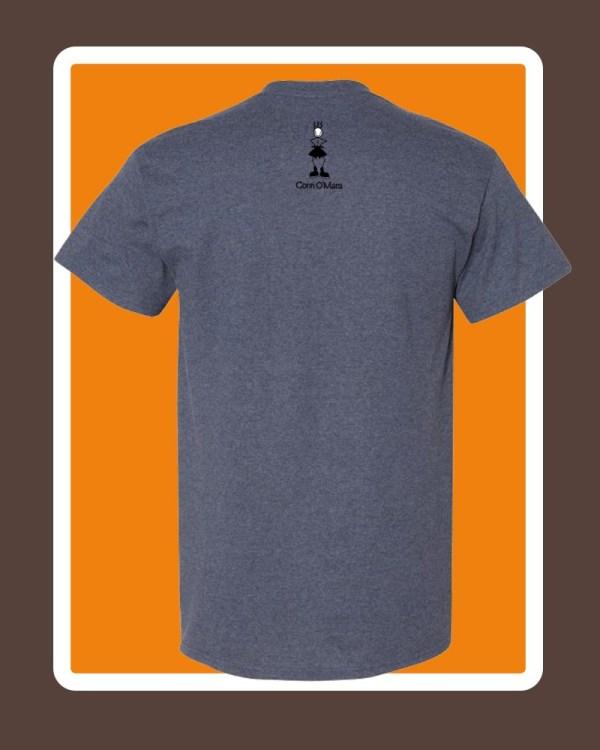 Mens connemara T-shirts by Conn O'Mara   T-shirts, clothing for men of Connemara   Mens tee shirt from the Back with Conn O'Mara Logo at top.