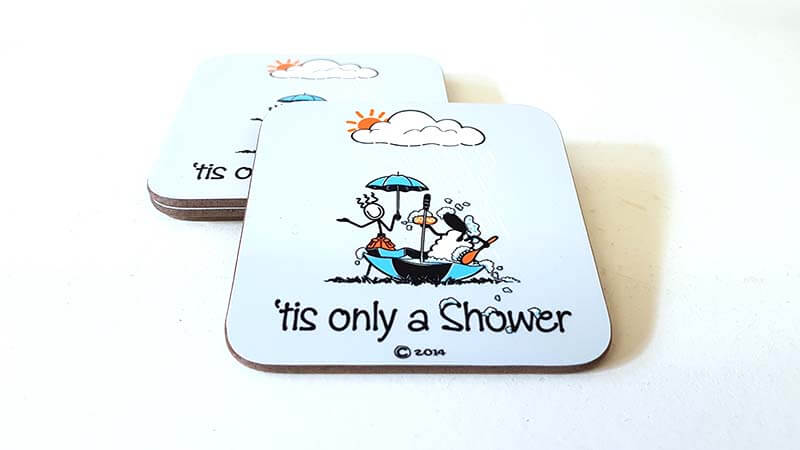 Coaster Tis Only A Shower