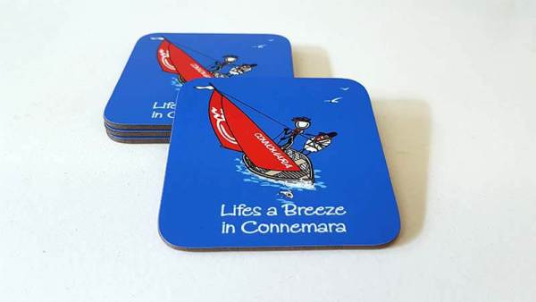 Coaster Lifes a Breeze in Connemara