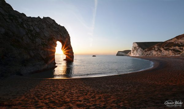 Durdle-Door-Sunset