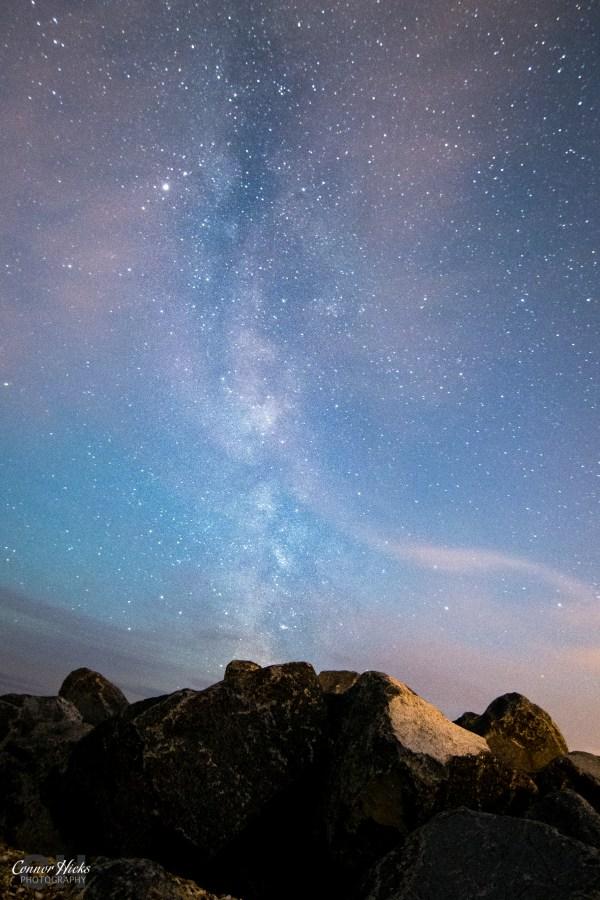 Hayling-Island-Milky-Way