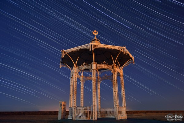 Southsea-Bandstand-Star-Trails-Hampshire