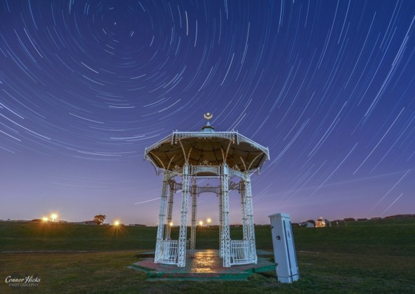 Southsea-Bandstand-Startrails-Portsmouth-Astrophotography