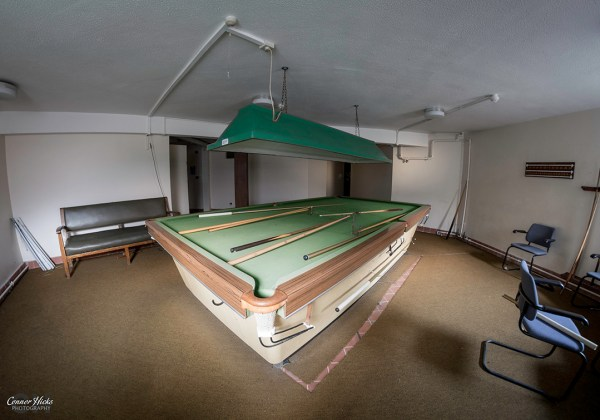 Royal-Hospital-Haslar-Urbex-Snooker