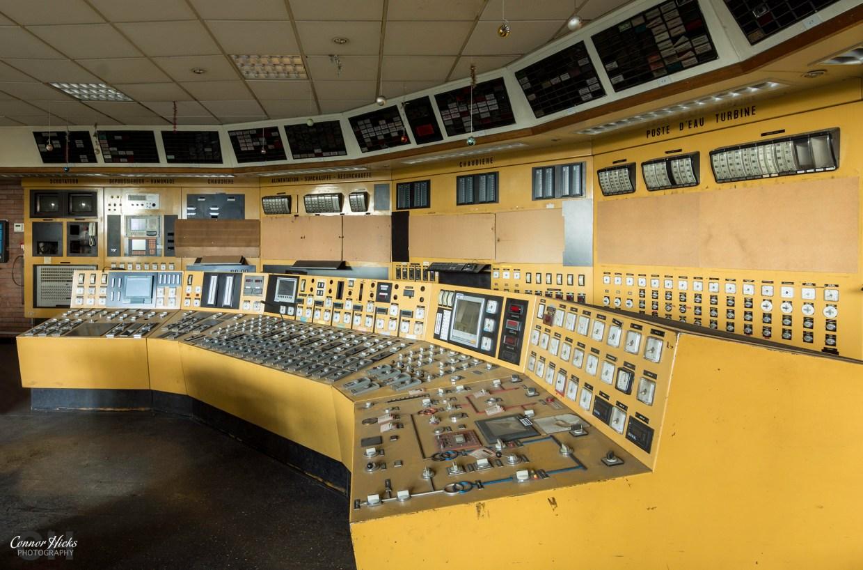 schneider control room urbex france