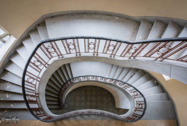 staircase urbex Haus Der Offiziere