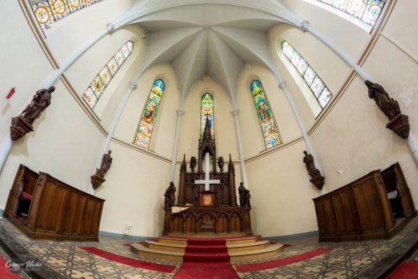 urbex belgium church
