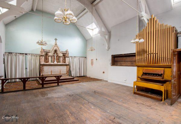 North Staffordshire Royal Infirmary chapel urbex