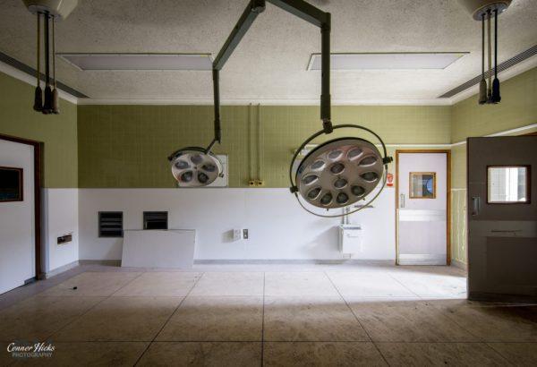 North Staffordshire Royal Infirmary urbex operating theatre