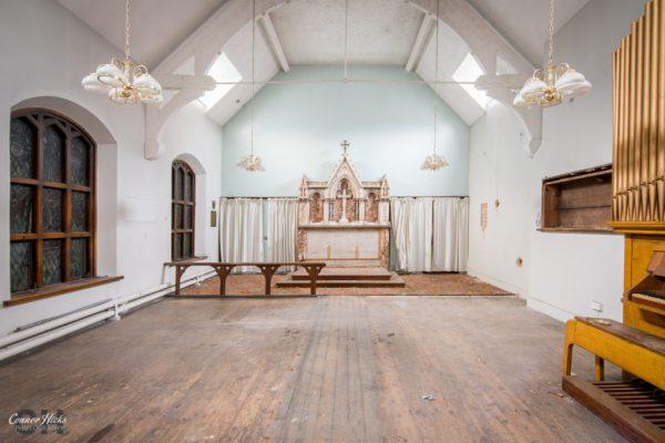 chapel North Staffordshire Royal Infirmary urbex