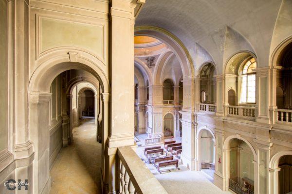 church ospedale g urbex italy