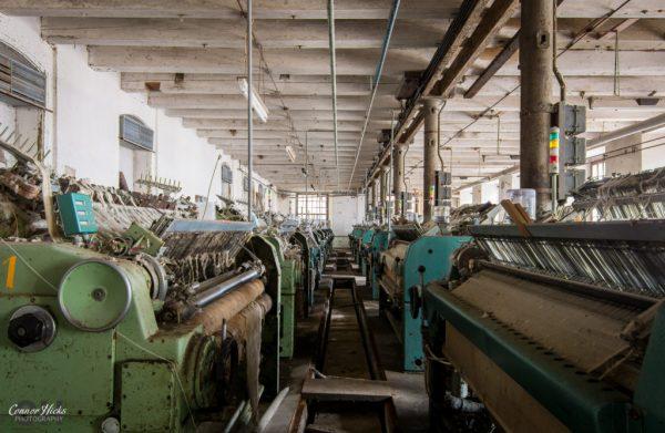 cotton factory urbex austria
