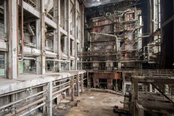 hungary power station urbex