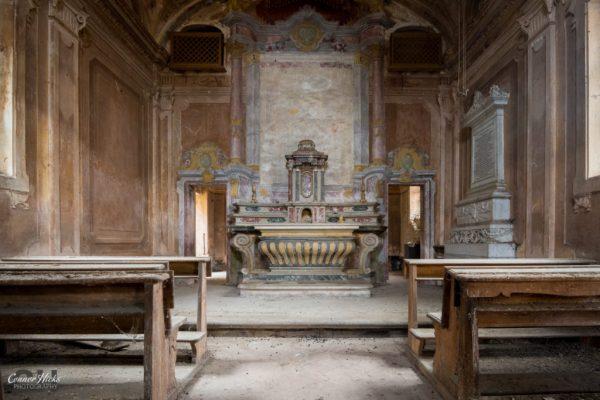 urbex chapel italy