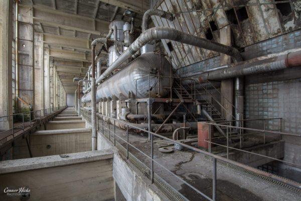 urbex power station hungary