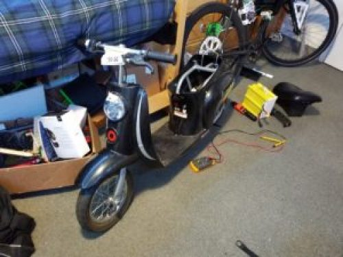 Electric Moped Project – ConnorMakes