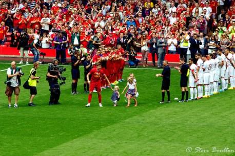 Photo of Gerrard's testimonial