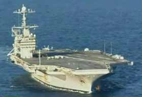 El portaaviones George Bush