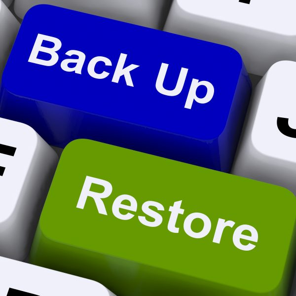 Backup system: Storing important digital documents