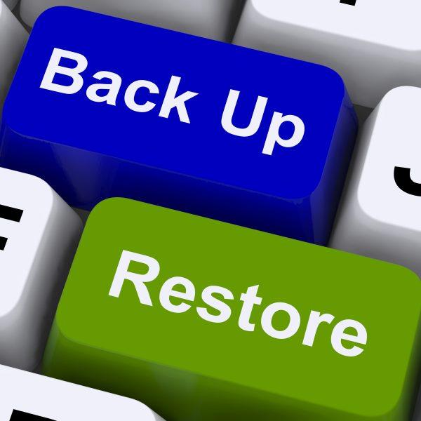 Backup system: Storing important digital documents