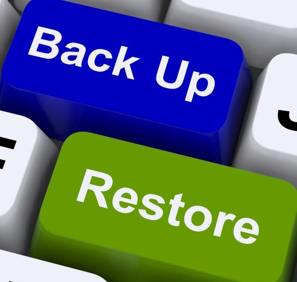 Make sure you have a backup system for your data in place. Any backup system is better than no backup system. From Chaos to Peace - connygraf.com