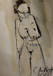 Amazon De Xm Leinwand Set Aktmalerei Abstrakte Portrat