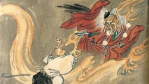 Tengu, figura mítica del sintoísmo