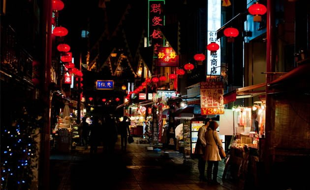 Nankin machi, el distrito chino de Kobe