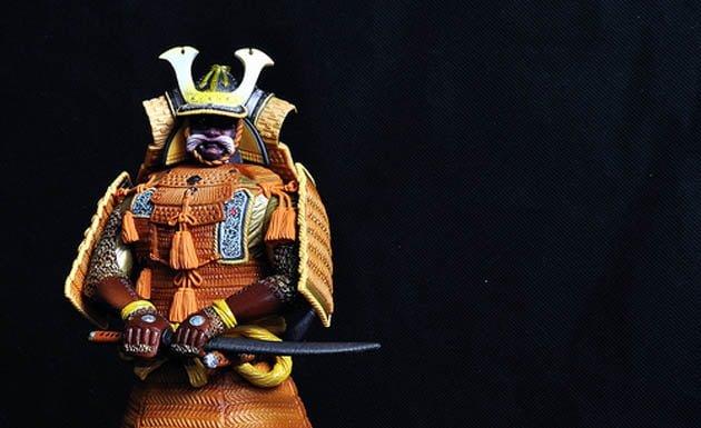 armadura samurái