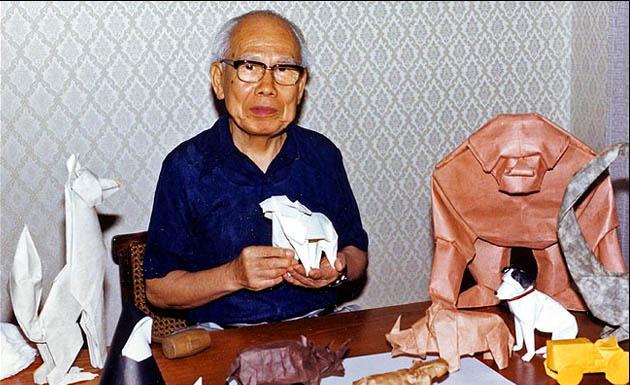 Akira Yoshizawa, fundador del origami moderno