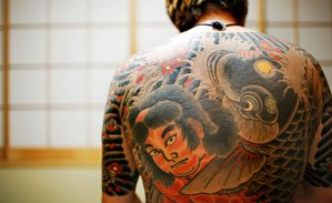 Tatuaje de un Yakuza
