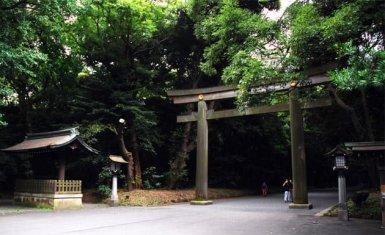 Templo de Meiji Jingu, santuario sintoísta