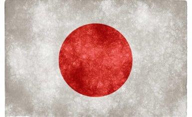 Stylized flag of Japan