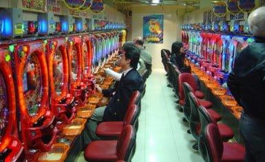 Salón de pachinko