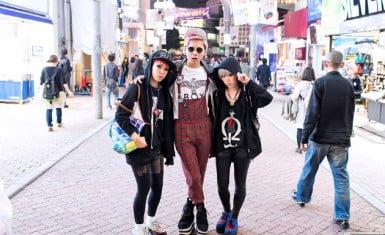 Moda en Shibuya