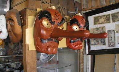 máscara de tengu