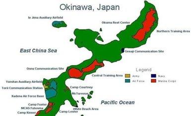Bases militares estadounidenses en Okinawa