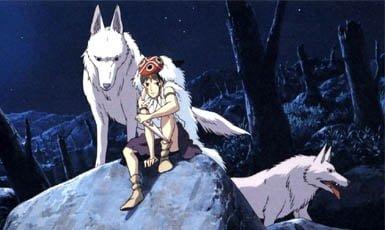 La princesa mononoke, top 10 película de anime